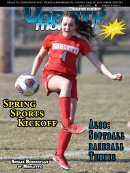 April 2018 Issue of Varsity Monthly Thumb Magazine