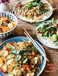 Edible San Diego Special Edition: Feasts from the East Issue #56