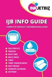 InkJetBiz Info Guide Catalog