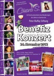 24. November 2012 - Peter Maffay Stiftung