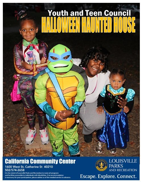 California Community Center Halloween 2019