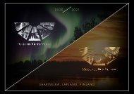 Northern Lights Village / Midnight Sun Village Saariselkä-Lapland 2020-2021
