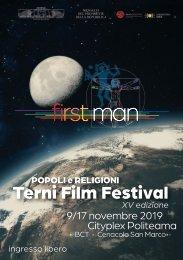XV EDIZIONE POPOLI E RELIGIONI TERNI FILM FESTIVAL 2019