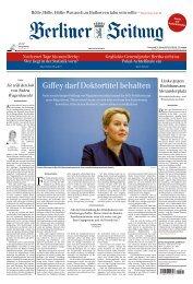 Berliner Zeitung 31.10.2019