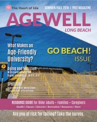 AgeWell Summer/Fall 2019