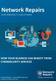 How Your Business Can Benefit From Cybersecurity Services