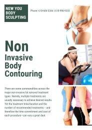 Non Invasive Body Contouring- New You Body Sculpting