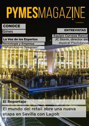 Revista PYMES Magazine nº21 mes de noviembre
