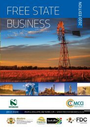 Free State Business 2020 edition