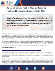 Angle-of-attack Probes Market Growth Factors, Demand and Analysis till 2023