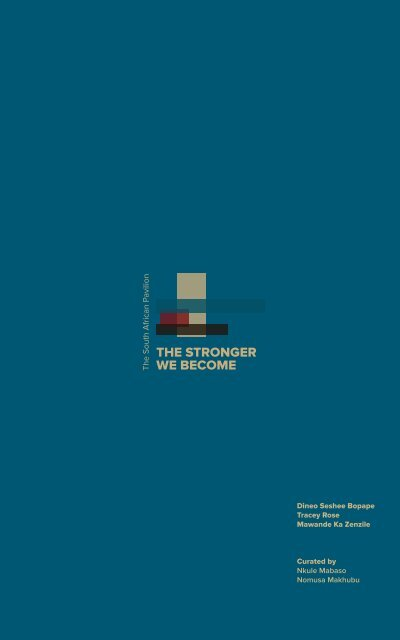 The Stronger We Become Catalogue