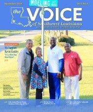 The Voice of Southwest Louisiana November 2019 Issue