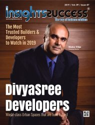 The Most Trusted Builders & Developers to Watch in 2019