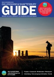 Gillingham & Shaftesbury Guide November 2019