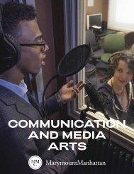 Communication and Media Arts Brochure 2019-20