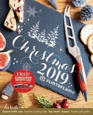 Flint & Flame Christmas 2019 Catalogue