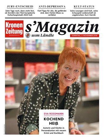 s'Magazin usm Ländle, 3. November 2019