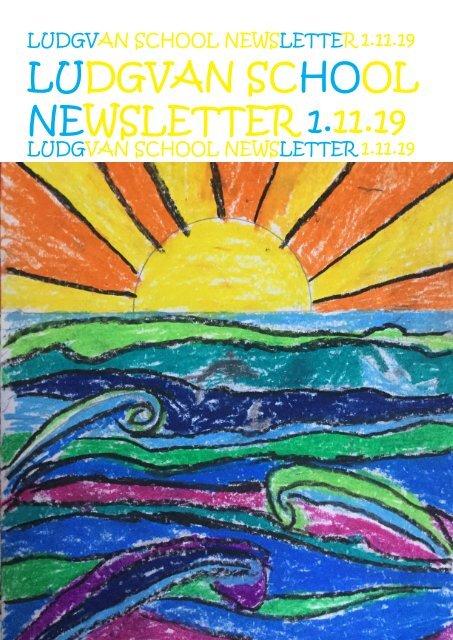 Newsletter 4  -1.11.19
