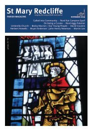 St Mary Redcliffe Parish Magazine - November 2019