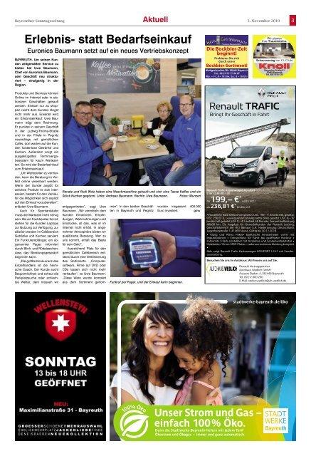 2019-11-03 Bayreuther Sonntagszeitung