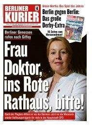 Berliner Kurier 01.11.2019
