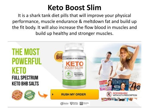 Keto Boost Slim : Diet Pills For Lose Weight, Keep Healthy & Slimmer!
