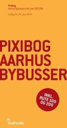 Pixibog | Aarhus Bybusser inkl. rute 100/200 | K14/K15 | Midttrafik