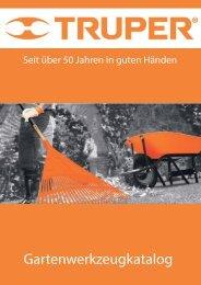 TRUPER Katalog 2019 Gartengeräte