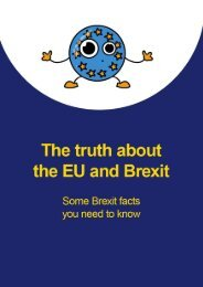 Brexit MythBuster