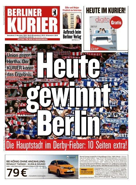 Berliner Kurier 02.11.2019