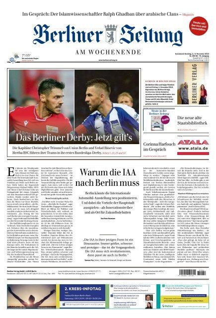 Berliner Zeitung 02.11.2019
