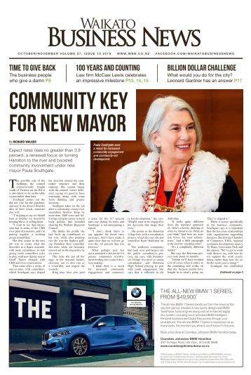 Waikato Business News October/November 2019