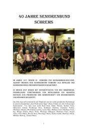 40 Jahre Seniorenbund Schrems