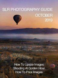 SLR Photography Guide - October Edition 2019