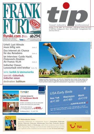 Montag, 27. 04. 2009 - Nr. 17/09 (854) - tip