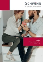 Schwinn Beschläge - Katalog 2019 - Profile