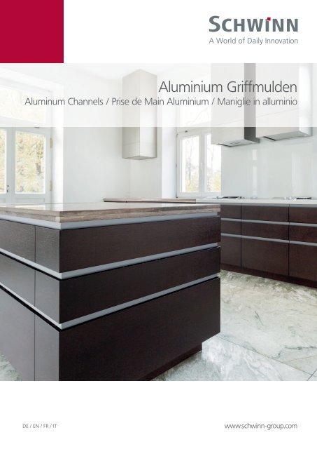 Schwinn Beschläge - Katalog 2019 - Aluminium-Griffmulden