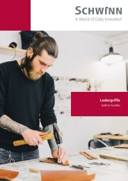 Schwinn Beschläge - Katalog 2019 - Ledergriffe