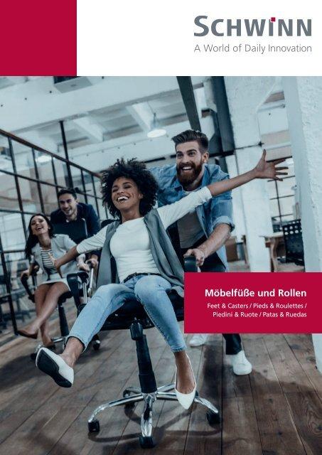 Schwinn Beschläge - Katalog 2019 - Möbelfüße & Rollen