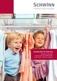 Schwinn Beschläge - Katalog 2018 - Garderoben & Ordnung
