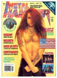 metal hammer april 1991