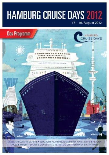 bekommen Sie das Programm der Hamburg Cruise