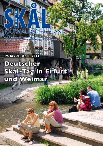 Deutscher Skål-Tag in Erfurt und Weimar - Skål International ...