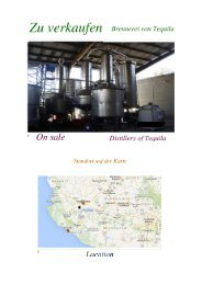 For Sale Brennerei _Distillery Of Tequila