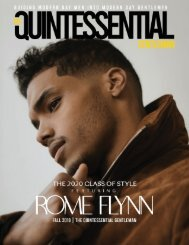 Rome Flynn | Style Issue 2019