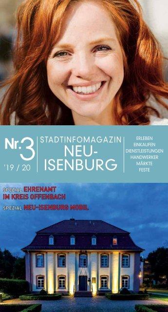 Stadtinfomagazin Neu Isenburg 2019