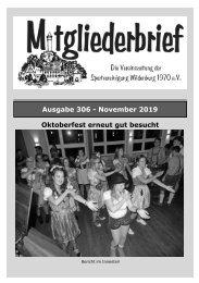 Ausgabe 306 - November 2019