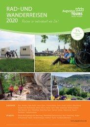 AugustusTours Katalog Rad- und Wanderreisen 2020