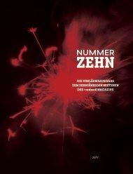 Nummer Zehn - Magazin 2019