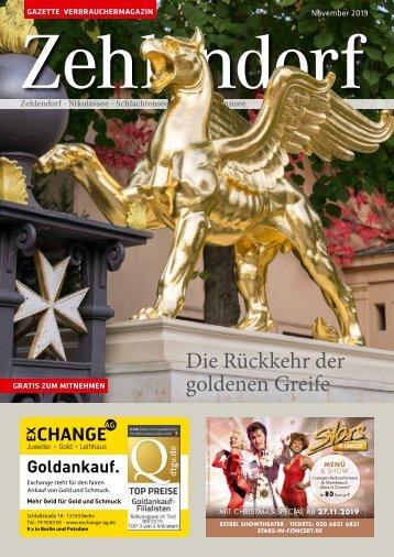 Gazette Zehlendorf November 2019